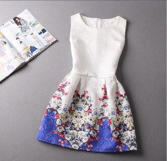 dress floral dress floral prints cute dress