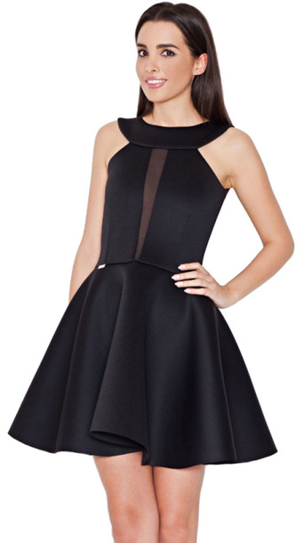 Dress: dream it wear it, skater, skater dress, skater dress, black ...