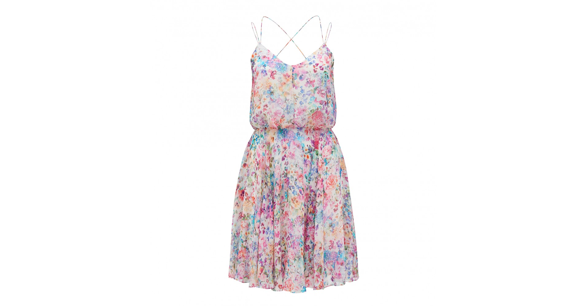 Edith Floral Printed Dress