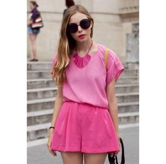 shorts cute hot pink pink pink shorts hot pink shorts hot pink shorts