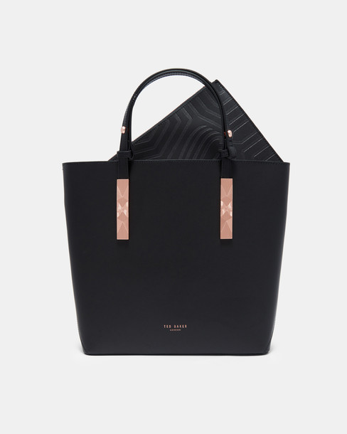 Ted Baker bag leather black