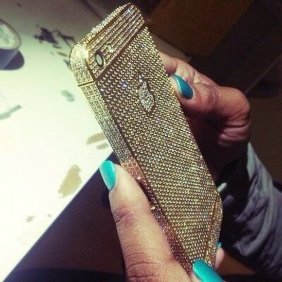 iphone case jewels iphone iphone cover diamonds bling classy fashion gold