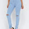 Slits easy high-waisted jeggings ltblue blue - gojane.com