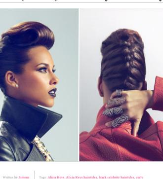 coat alicia keys hairstyles alicia keys