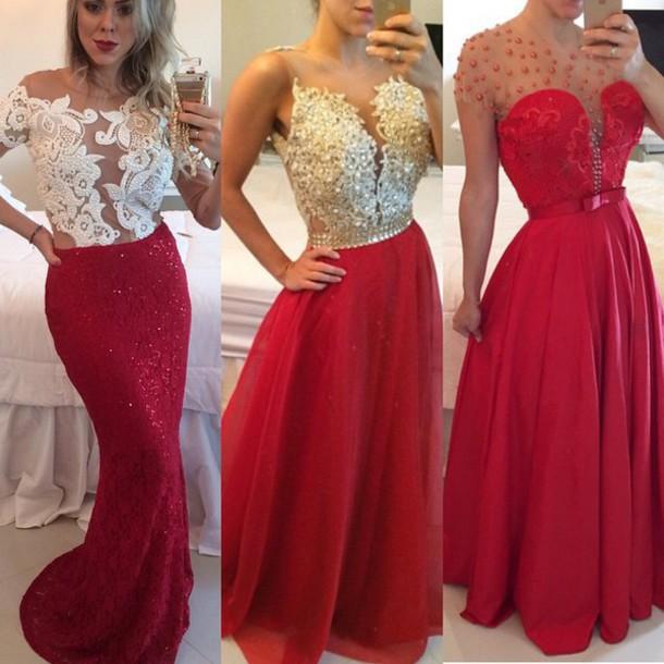Dress: atelier barbara melo, prom dress - Wheretoget
