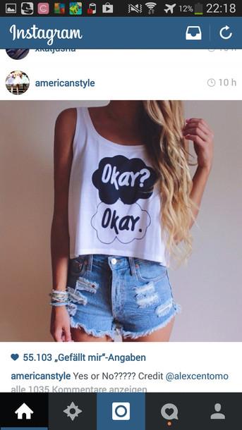 okayokay johngreen t-shirt blouse tank top top tfios top shirt