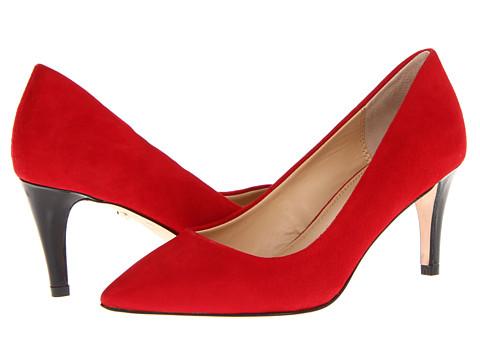 Diane Von Furstenberg Anette 70 New Heel Crimson Red - Zappos Couture