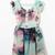 Green Ruffle Sleeve Die Tie Floral Button Front Chiffon Dress - Sheinside.com