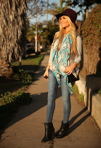 angel food sweater scarf jeans shoes hat bag sunglasses