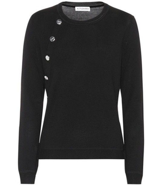 Altuzarra sweater wool sweater wool black