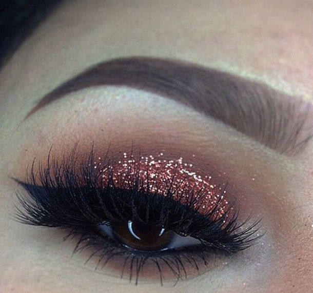 Make Up Glitter Orgasam Eyeshadow Cute Pretty Eye Shadow