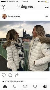 jacket,tommy hilfigher,white,cute,winter outfits,beautiful,sweet,lisaandlena,lisa and lena,tommyhilfigher,tommy hilfiger jacket