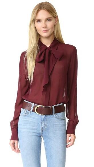 blouse chiffon top