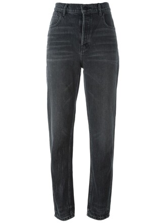 jeans high waisted jeans high waisted high women cotton grey