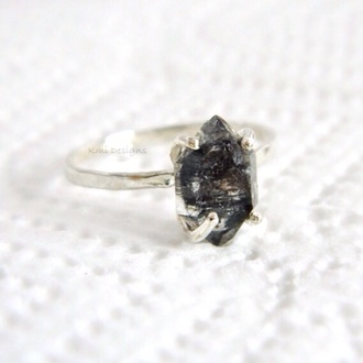 jewels engagement ring diamonds ring handmade ring silver rings