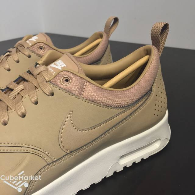 new authentic innovative design 2018 shoes New Women's Nike Air Max Thea Premium Tan Desert Camo 616723 ...