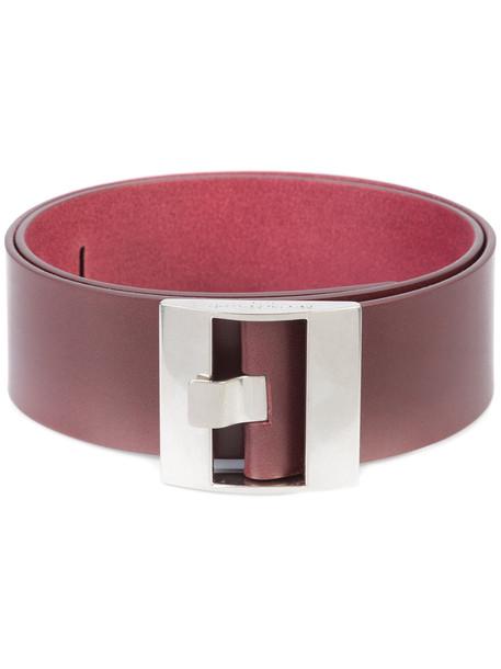 belt red