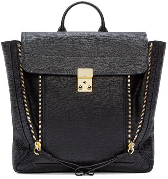 backpack leather black black leather bag