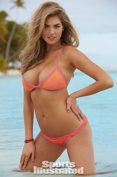 swimwear pink pink bikini kate upton bikini top swimwear swimsuits lace swimming costume summer dress summer outfits orange swimwear pink swimwear orange orange bikini model sportswear