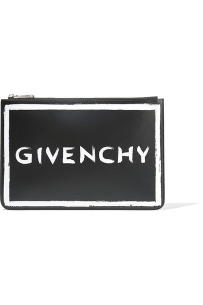Givenchy pouch leather black bag