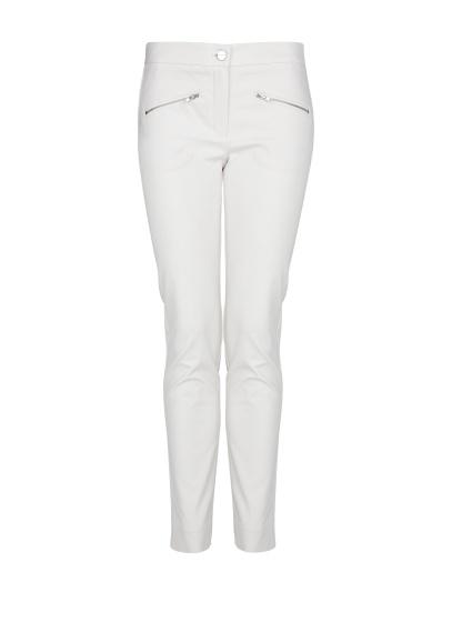 MANGO - PRENDAS - Pantalones - Pantalón elástico cremalleras