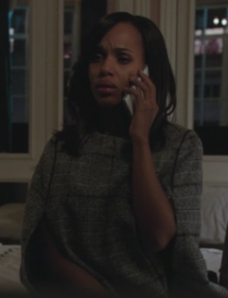 plaid cape kerry washington olivia pope scandal coat