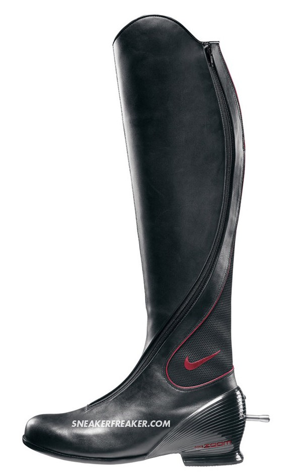 Shoes Nike Black Boots Equestrian Style Boots Olympics