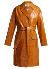 coat,leather,brown