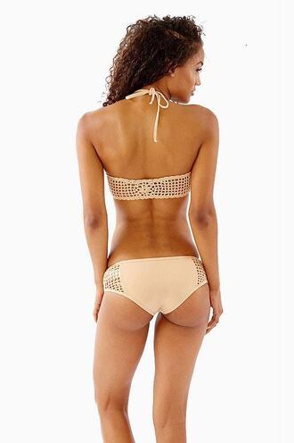 swimwear bikini bottoms bikini delivery crochet frankies bikini full coverage tan bikiniluxe