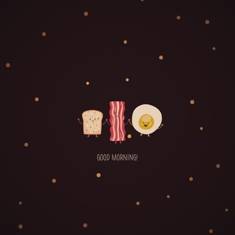 shirt foodi food breakfast