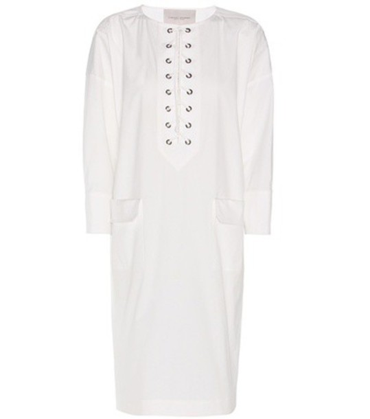 dress tunic dress cotton white