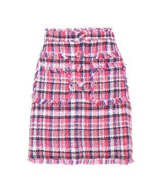 miniskirt cotton pink skirt