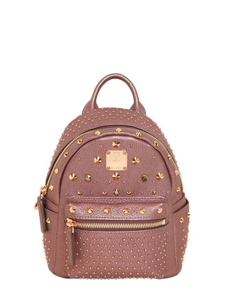 mini backpack pink bag