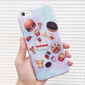 phone cover iphone cover iphone iphone case iphone 5 case stickers emoji print food
