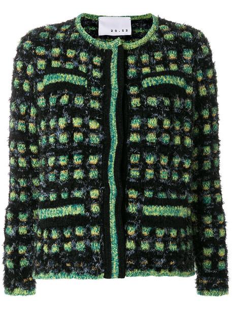 jacket women cotton wool green