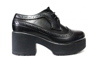 platform shoes high heels punk brogue grunge