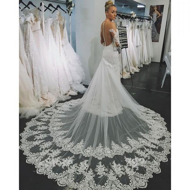Dress galia lahav wedding dresses long sleeve wedding for Lace sleeve backless wedding dress