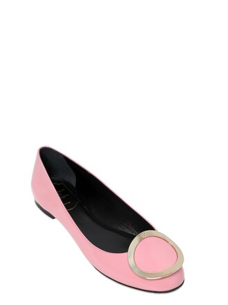 flats leather flats leather light pink light pink shoes