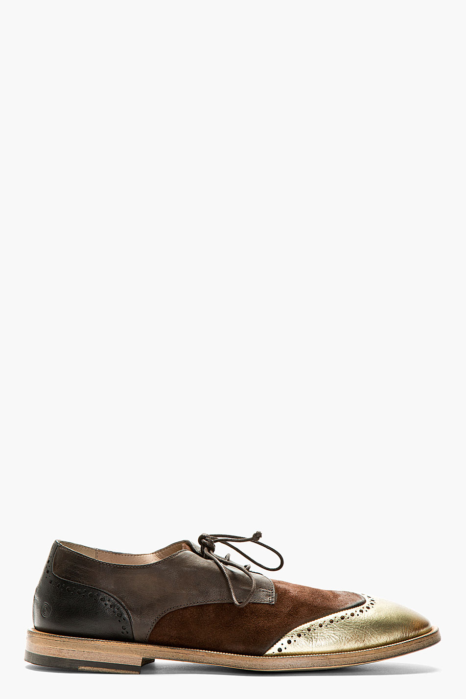 Marsll brown leather shortwing brogues