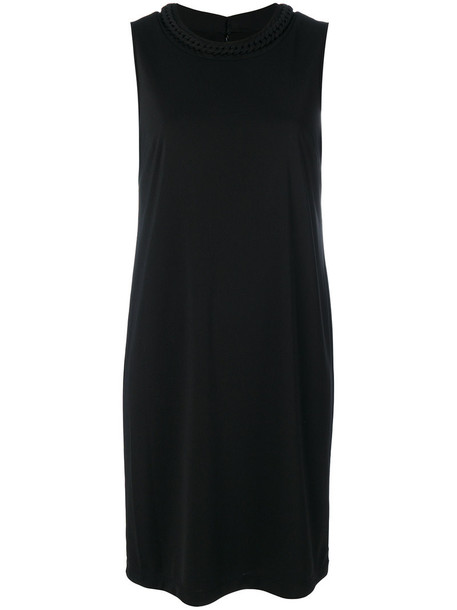 DKNY dress shift dress women spandex black