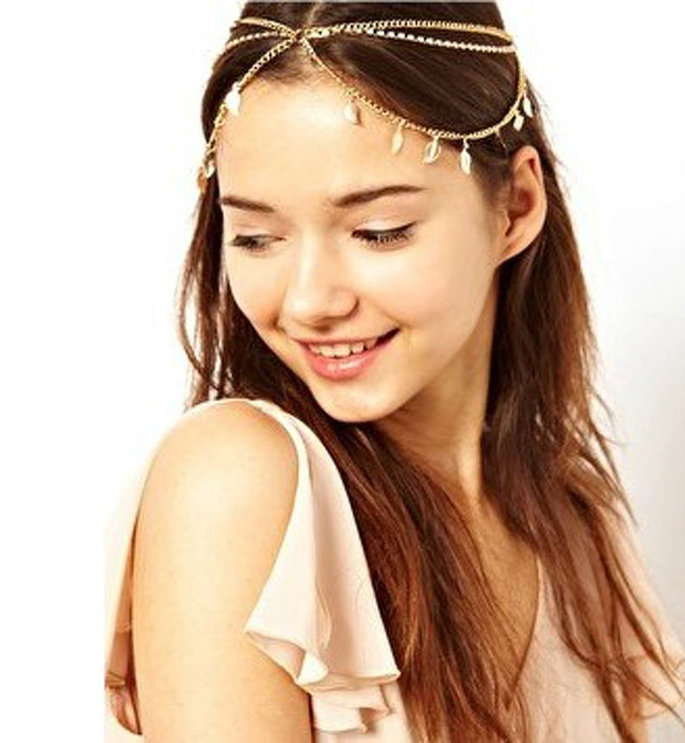 Amazon.com: WIIPU Bohemian Head Chain House Of Harlow Headpiece hip hop Headchain(wiipu-C58): Head Jewelry: Jewelry