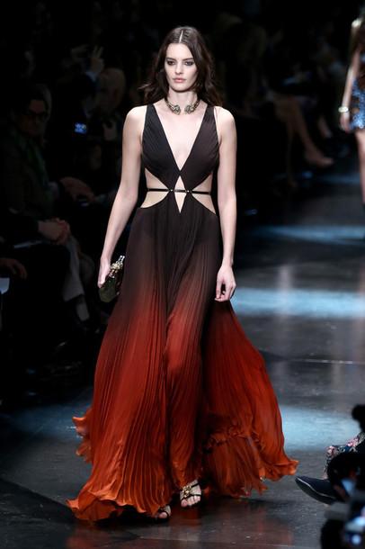 dress gown fashion fashion week 2015