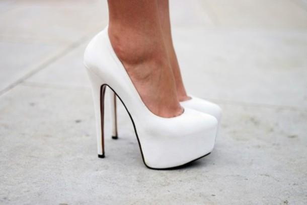 Cheap White High Heels | Fs Heel