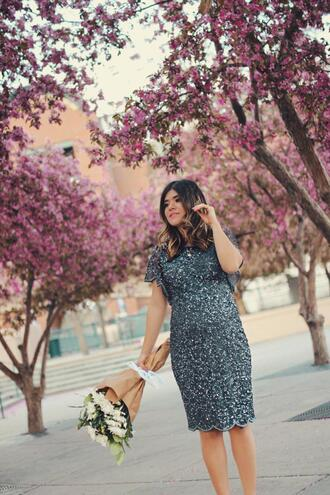 chictalk blogger dress spring outfits maternity