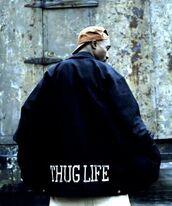 jacket,thug life,tupac,dope,westside,african american,cap,hat,coat,black,nigga,usa,snapback,mens jacket,trill,hipster,menswear,urban menswear,mens cap