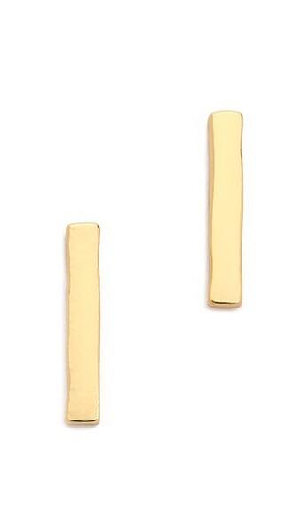 mini earrings stud earrings gold jewels