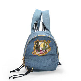 denim mini backpack mini backpack bag
