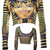 Walk Like an Egyptian Crop Top