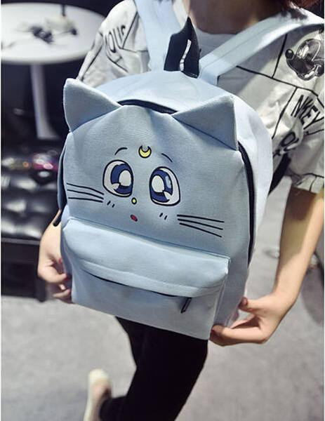 Kawaii Cat Ear Backpacks