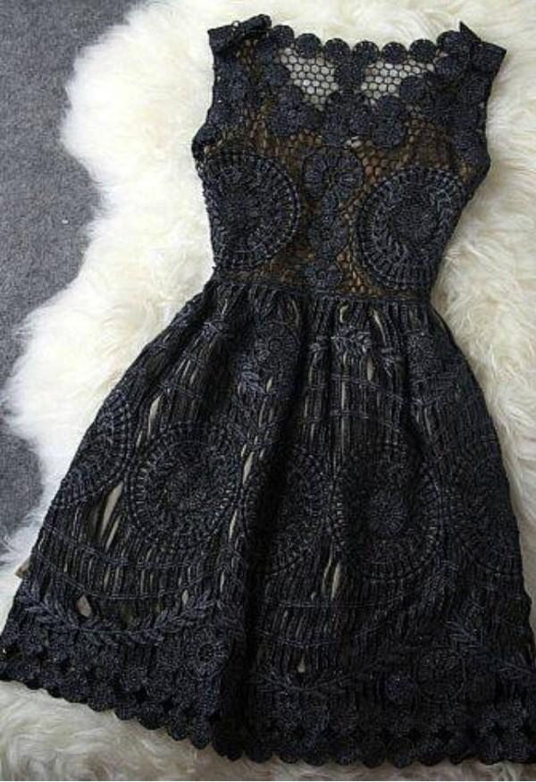 black dress vintage flowers vintage dress black dress
